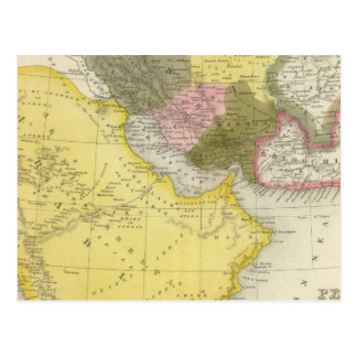 Postal Irán y la Arabia Saudita