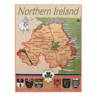 Postal Irlanda del Norte retra