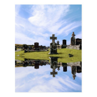 postal irlandesa del cementerio