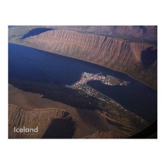 Postal Ísafjörður, Islandia