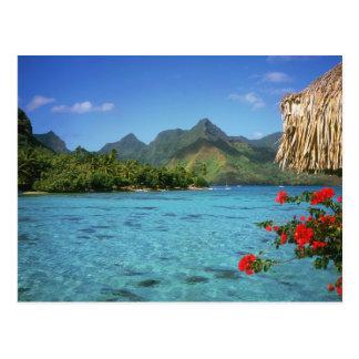 Postal Isla de Bora Bora, Polinesia francesa