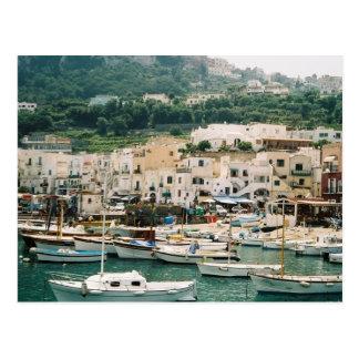 Postal Isla de Capri