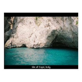 Postal Isla de Capri, Italia