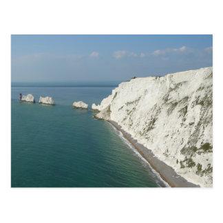Postal Isla de las agujas y de los acantilados del Wight