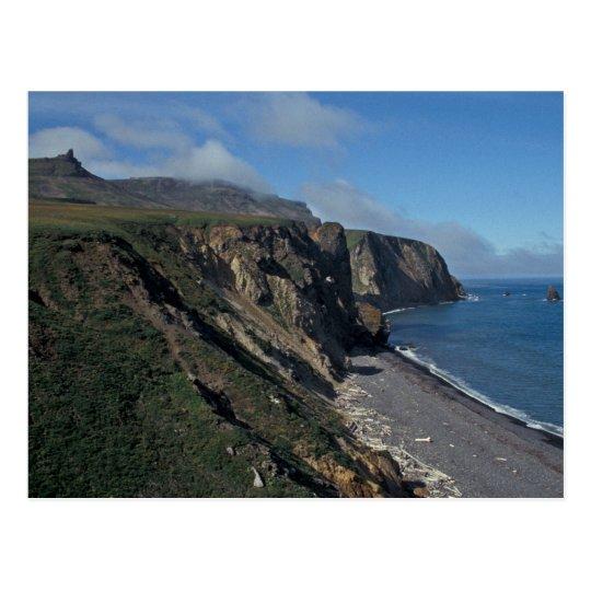 Postal Isla de Pasillo, mar de Bering