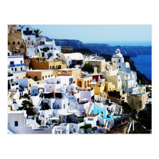 Postal Isla de Santorini en la FOTO de Grecia