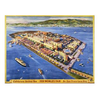 Postal Isla del tesoro de San Francisco