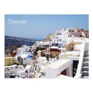 Postal Isla Grecia de Santorini