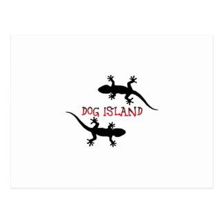 Postal Isla la Florida del perro