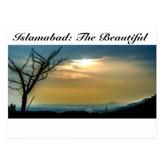 Postal Islamabad el hermoso