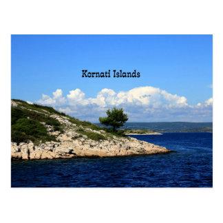 Postal Islas de Kornati, Croacia