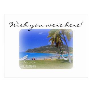 Postal Islas del St. Maarten