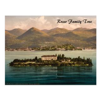 Postal Isola Madre I, lago Maggiore, Piamonte, Italia