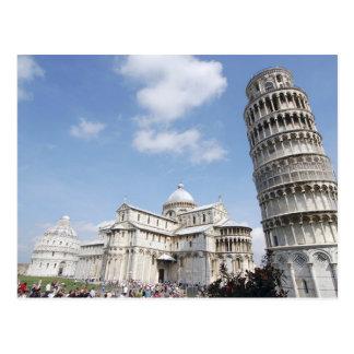 Postal Italia, Pisa. Catedral, baptistry y el inclinarse