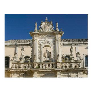 Postal Italia, Puglia, Lecce, Piazza del Duomo, Palazzo