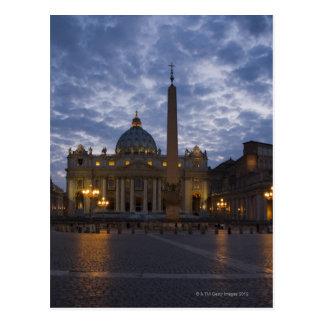 Postal Italia, Roma, Ciudad del Vaticano, la basílica de