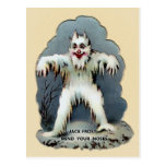 Postal Jack Frost, victoriano vintage