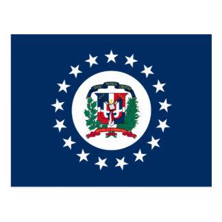 Postal Jack naval de la República Dominicana, dominicano