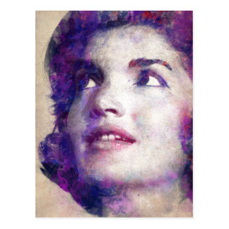 Postal Jacqueline Kennedy Onassis
