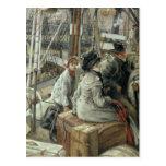 Postal James Tissot el | por el agua, c.1881-2