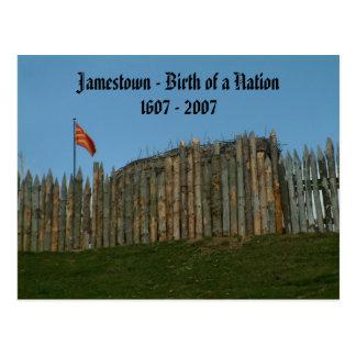 Postal Jamestown - nacimiento de una nación, 1607 - 2007