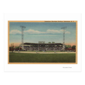Postal Jamestown, NY - estadio de béisbol municipal