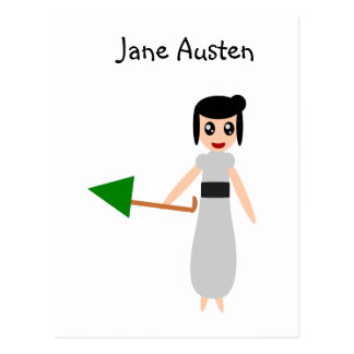 Postal Jane Austen lindo