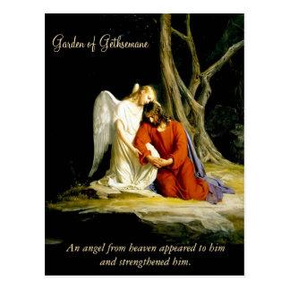Postal Jardín de Gethsemane Carl Bloch