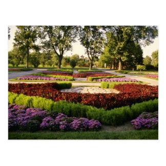 Postal Jardines botánicos, las publicaciones anuales,
