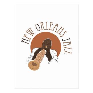 Postal Jazz de New Orleans