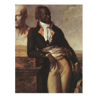 Postal Jean-Baptiste Belley por Girodet
