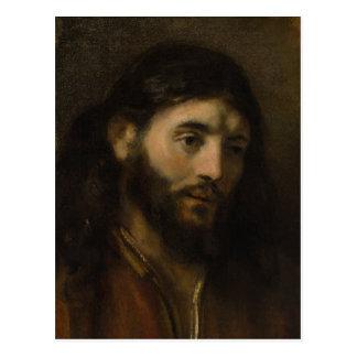 Postal Jefe de Rembrandt de los retratos de Cristo CC0923