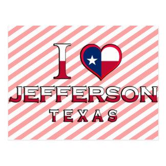 Postal Jefferson�, Tejas