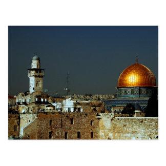 Postal Jerusalén