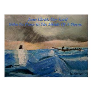 Postal Jesucristo, nuestro señor Gives Us paz