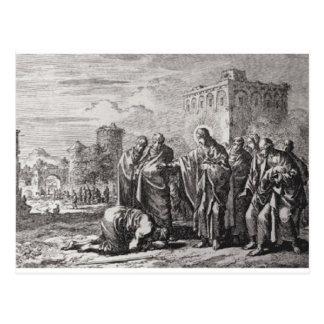 Postal Jesús enfrenta a 12 apóstoles