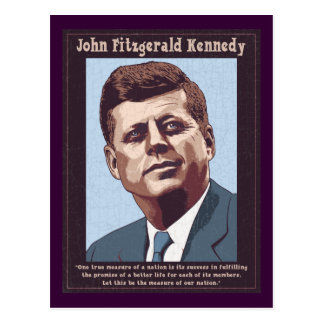 Postal JFK - Medida
