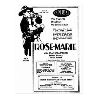 Postal Joan Crawford Rosa María 1928