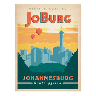 Postal JoBerg, Suráfrica