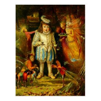 Postal John Anster Fitzgerald: Fairyland