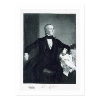 Postal John Tyler, 10mo Presidente de los Estados Unidos