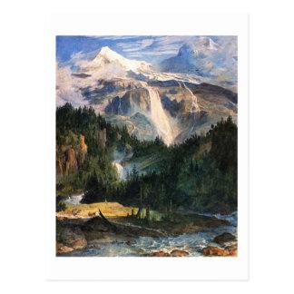 Postal José Antón Koch - Schmadribach Wasserfall, 1822