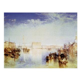 Postal José Mallord Turner - San Jorge Venecia