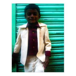 Postal joven de Rajeesh