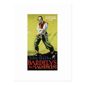 Postal Juan Gilbert en Bardelys la taza magnífica