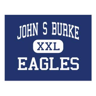 Postal Juan S Burke - Eagles - católico - Goshen Nueva