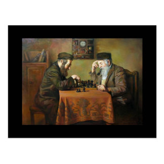 Postal Juego de ajedrez