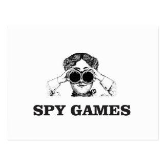 Postal juegos del espía sí