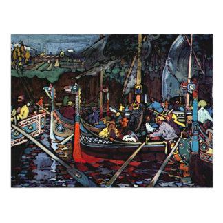 Postal Kandinsky - canción de Volga