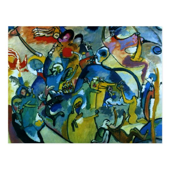 Postal Kandinsky - Día de Todos los Santos II